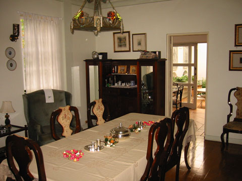 Dining Room on Raya Vida Dining Room